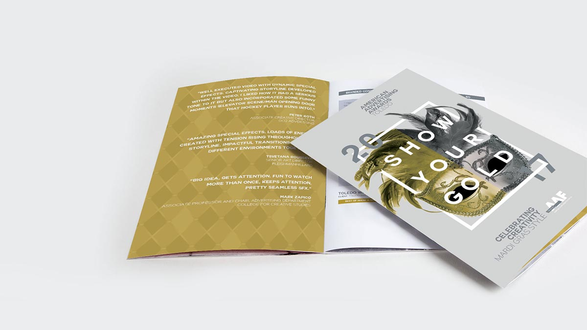 Addy 2017 Awards Book