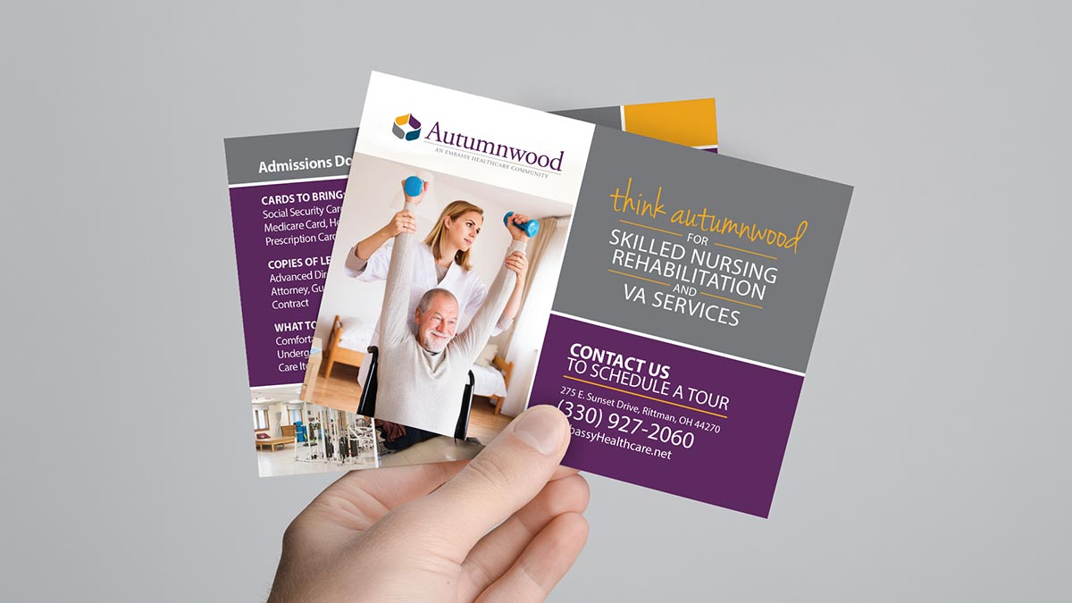 Embassy Healthcare Facility Postcards
