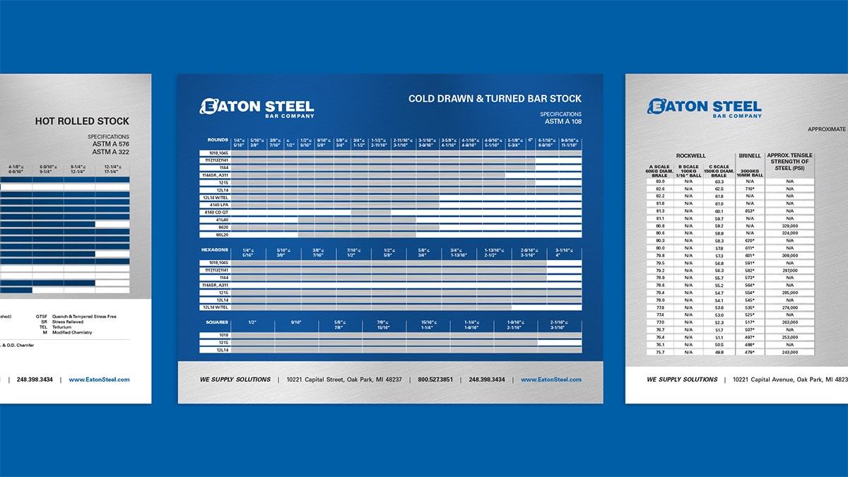 Eaton Steel Sell Sheets