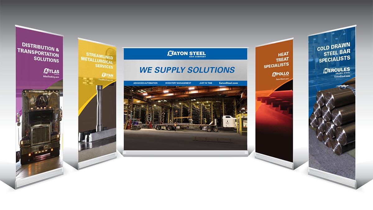 Eaton Steel Trade Show Displays