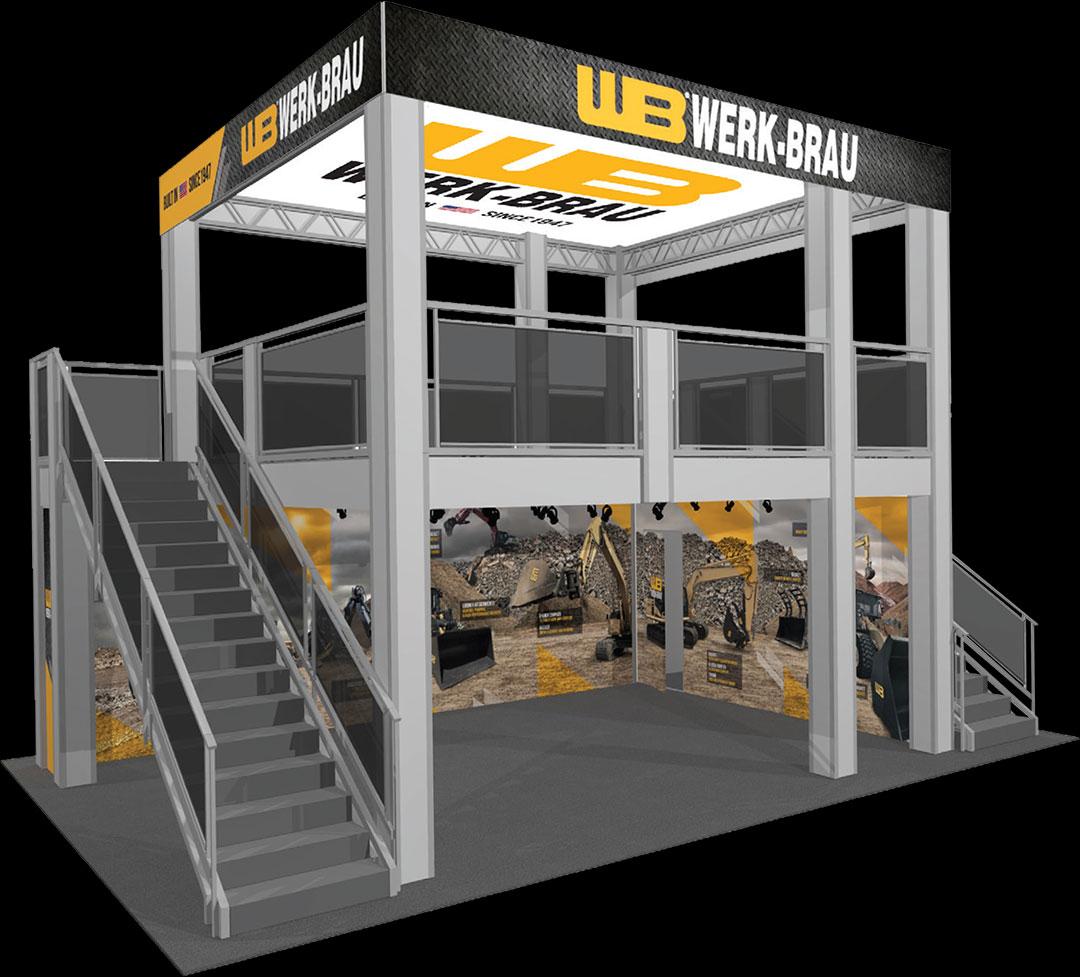 Werk-Brau Trade Show Booth