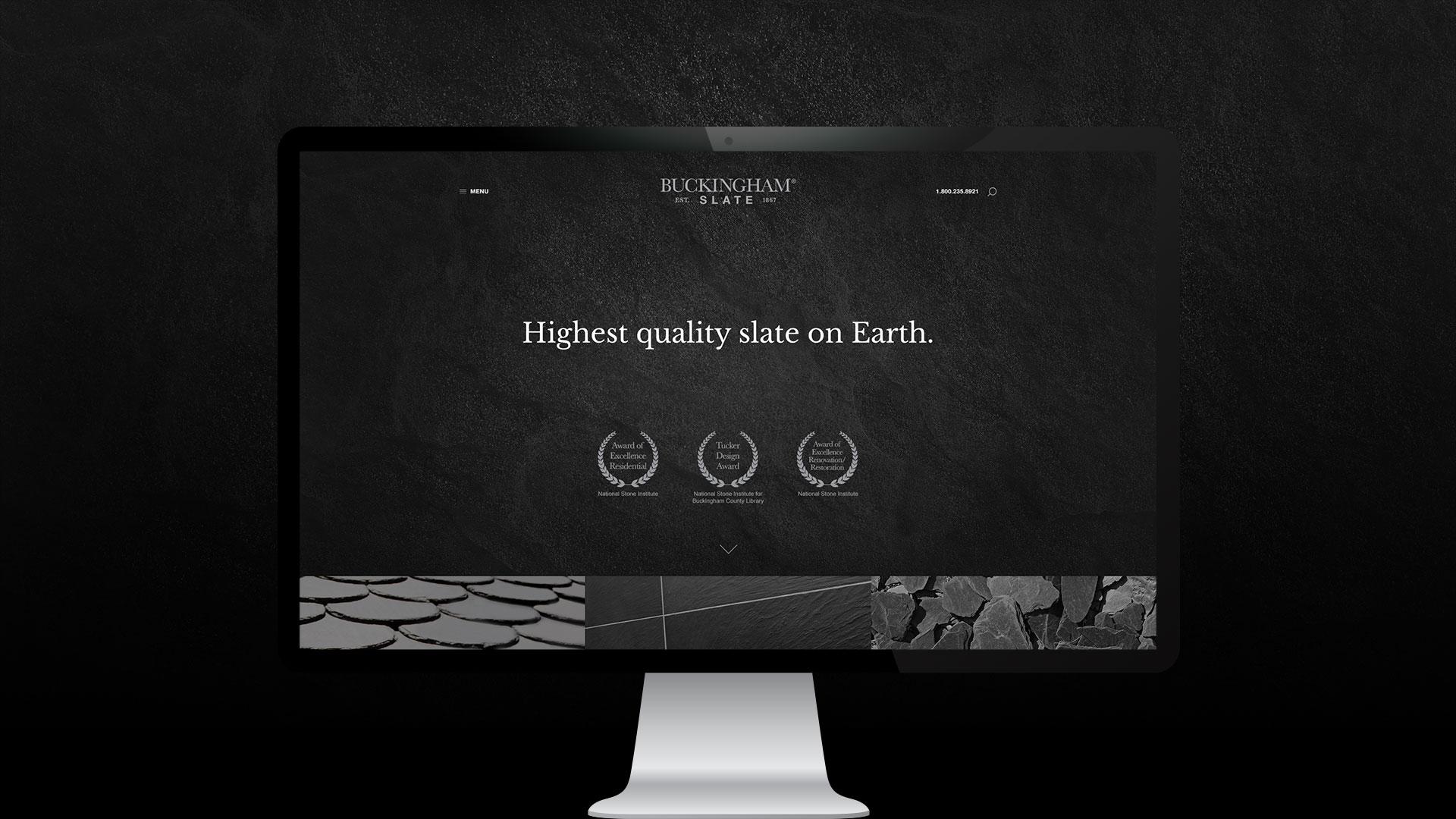 Buckingham Slate Website Design