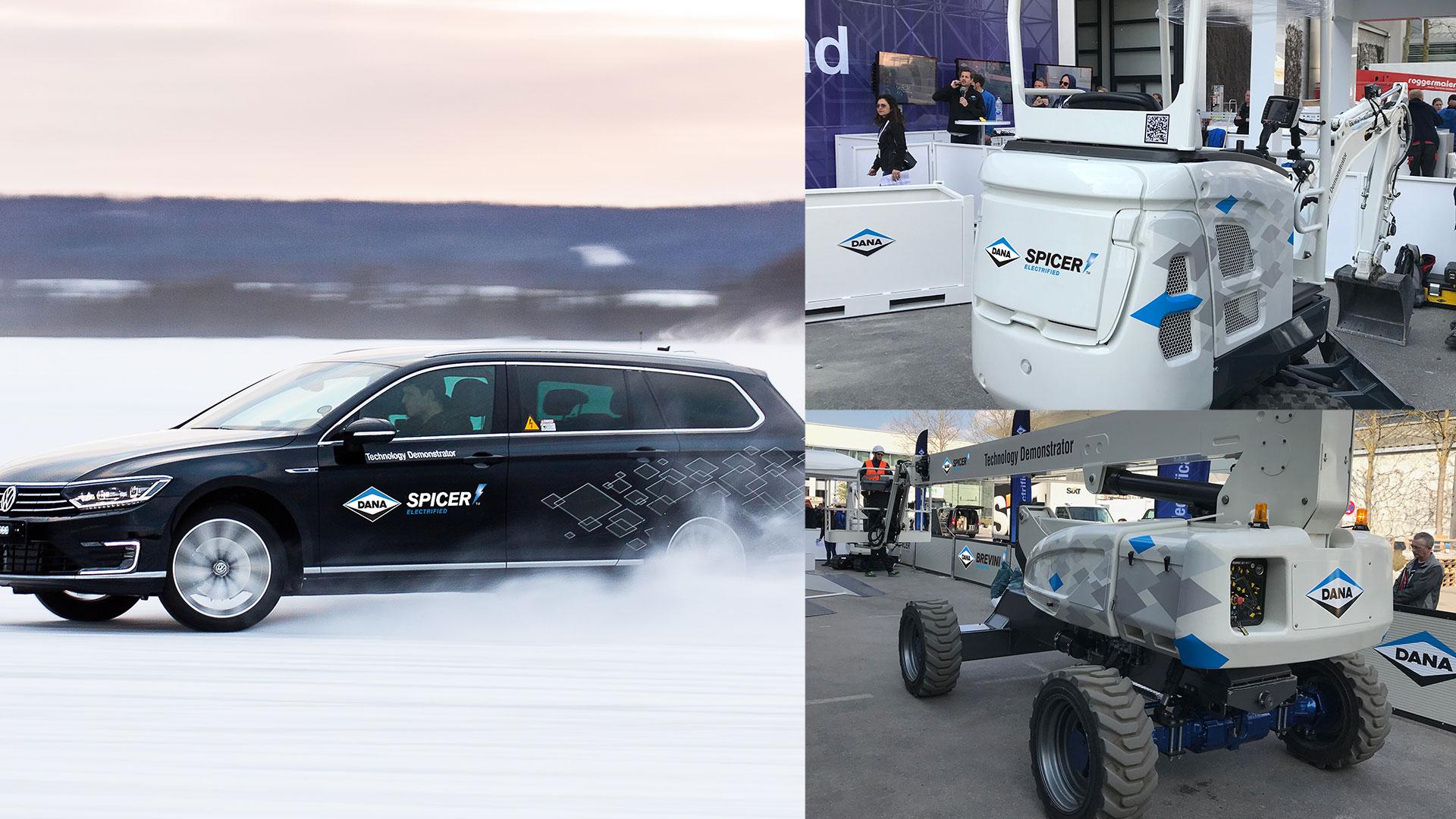 Dana Incorporated vehicle graphics