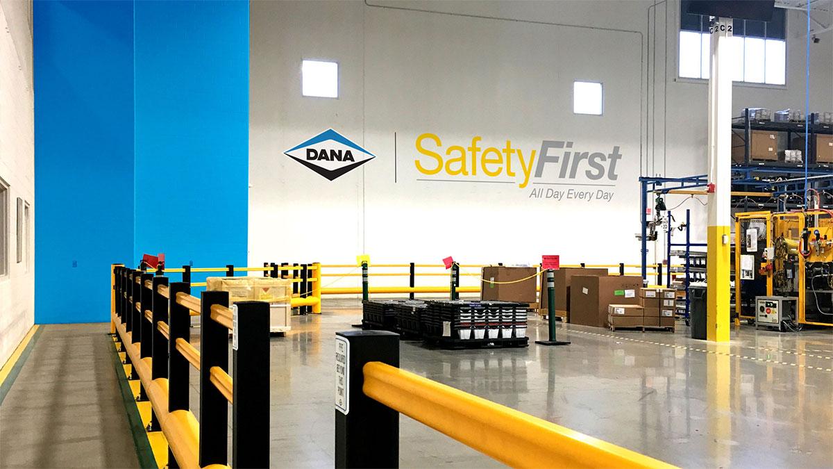 Dana Incorporated SafetyFirst Signage