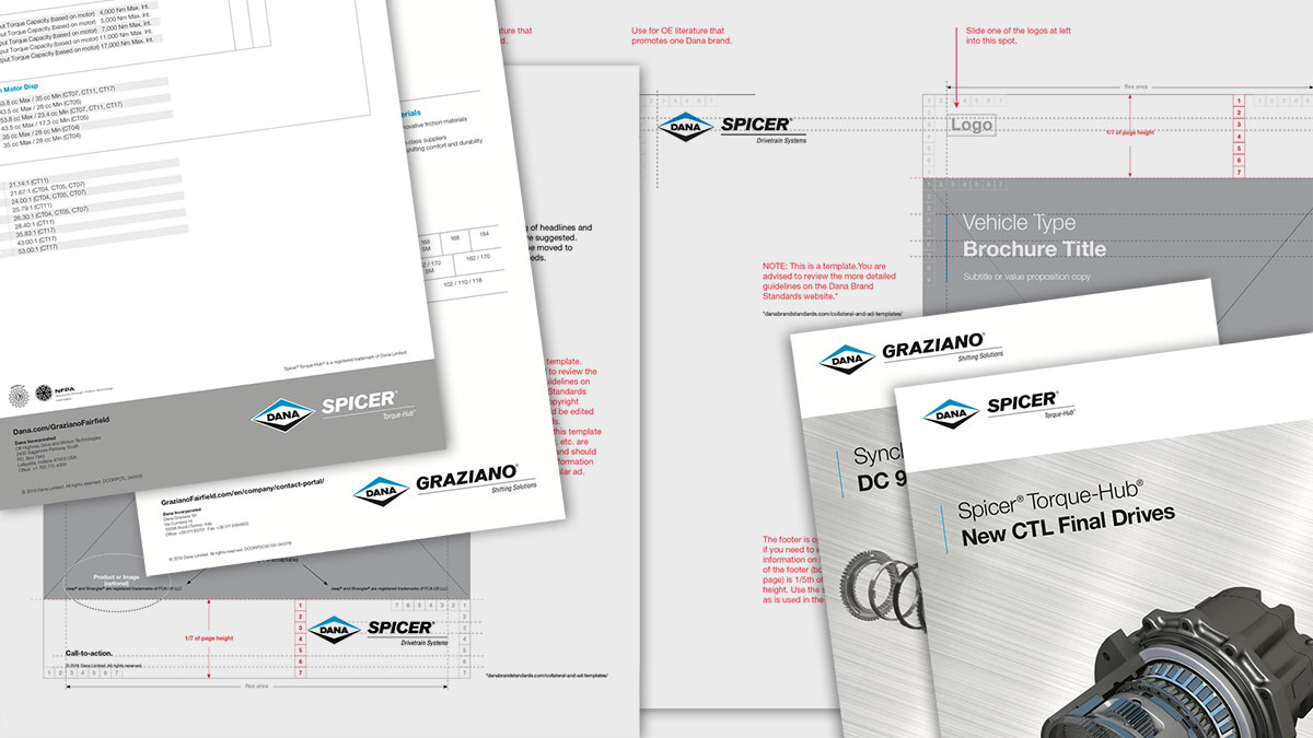 Dana Incorporated Collateral Layout and Guidelines