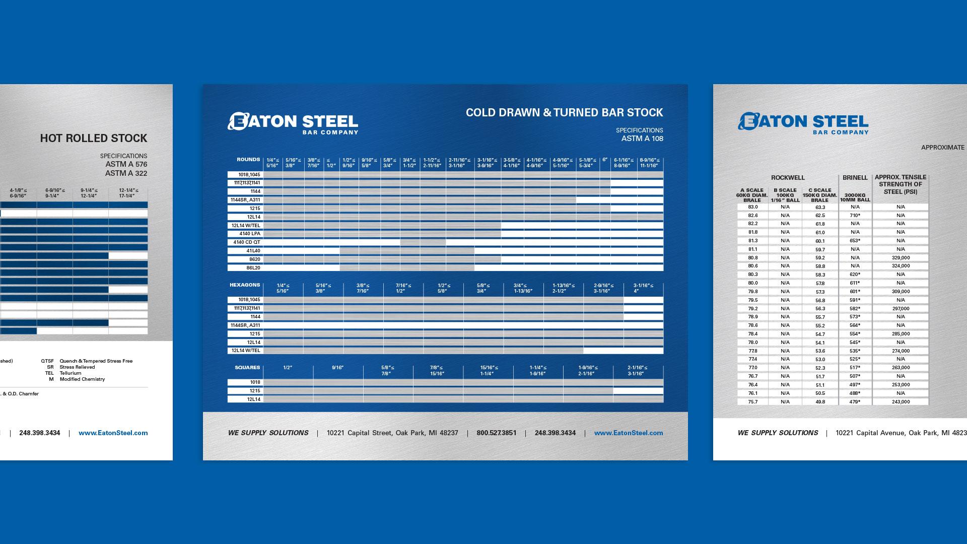 Eaton Steel Product Sell Sheet