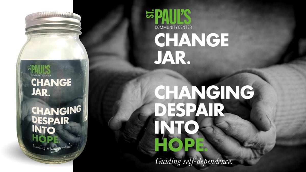 St. Pauls Change Jar