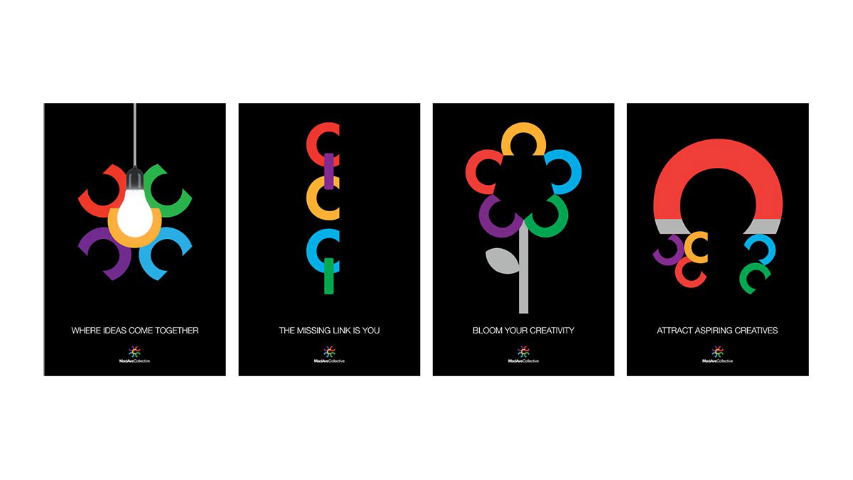 MadAveCollective poster series