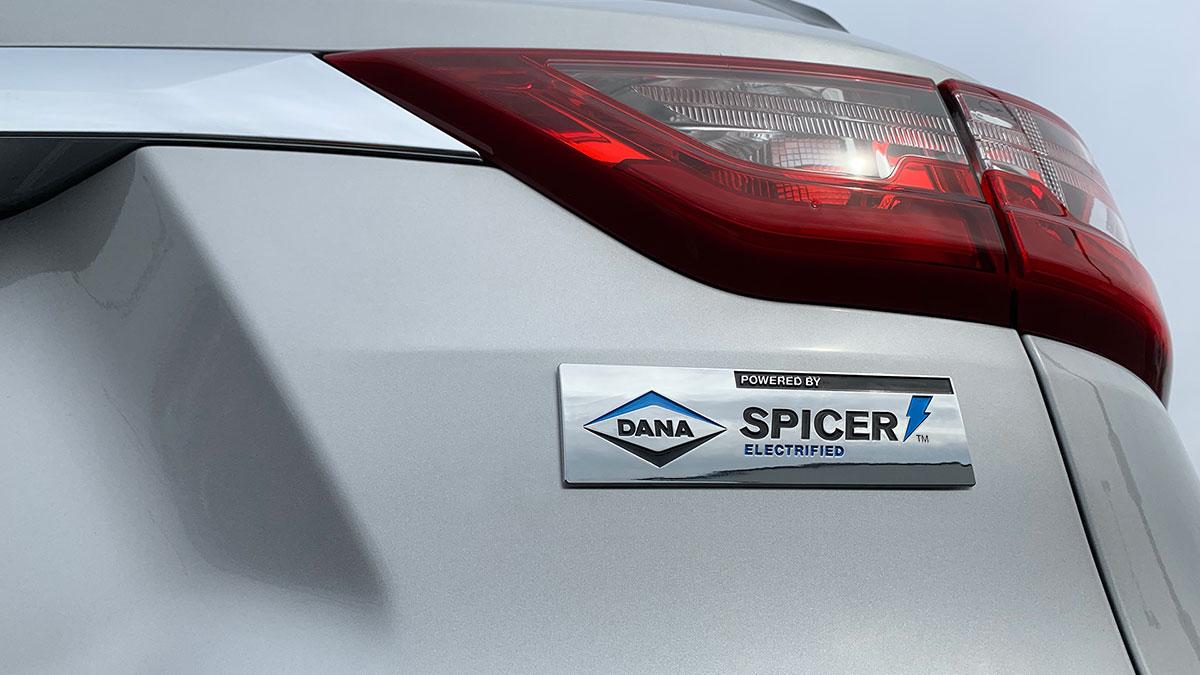 Dana Incorporated car decal